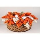 Bouquet Grappolo Noisette Orange-100326