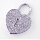 Clé usb Pendentif cœur serrure-100214