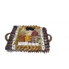 Assiette rectangulaire - Fakia-100324