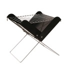 Barbecue en métal pliable