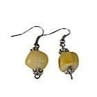 Boucles d'oreilles Contrast jaunes-104439
