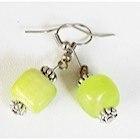 Boucles d'oreilles Shine vertes-104442