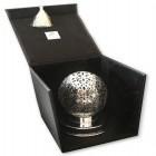 Coffret Lampe Ovale Ciselée Brz-105609