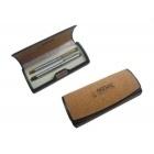 Coffret fermeture aimantée 2 stylos à bille-100082