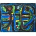 Porte bleue -101919