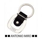 Porte-clés cuir et métal-105758