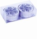 Set bougies flocon-106398