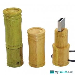 Clé usb Cylindre en Bamboo-100247