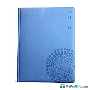 Agenda bleu arabesque-104565