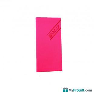 Agenda rose fluo-105710