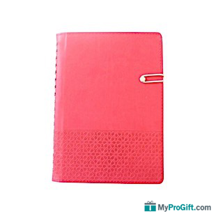 Agenda rouge arabesque-104564