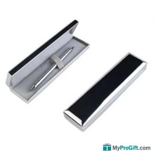 Coffret métallique stylo à bille métallique-100078