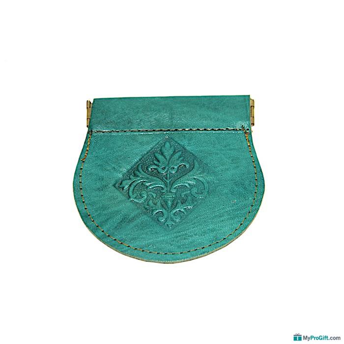 Porte-monnaie turquoise-104490