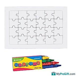 Puzzle et crayons de cire-103297
