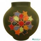 Vase en céramique Zellige Coloré-101014