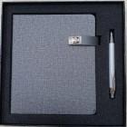 Coffret bloc-notes + stylo Gray-106681