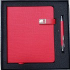 Coffret bloc-notes + stylo Red-106685