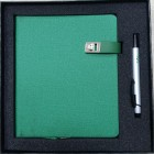 Coffret bloc-notes + stylo Green-106686