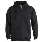 Sweat-shirt à capuche + crémaillère-107382