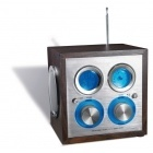 Radio cube en bois-101200