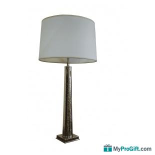 Lampe Tige en laiton argenté-101001
