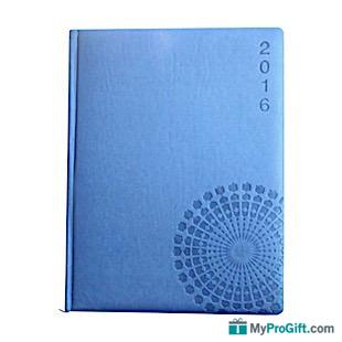 Agenda bleu arabesque-104565