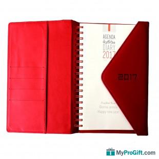 Agenda red flip-105716