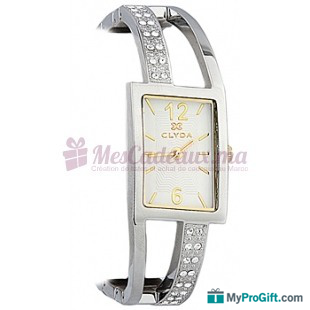Montre Bracelet De Paris Cld0432bbbw Clyda En Inoxydable Acier KF1clJ